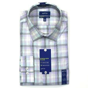 Apt. 9 Slim-Fit Dress Shirt - L 16-16.5, 34/35